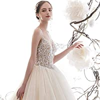 Home Accessories Dress The Bride Simple Dress Two Stars Bridal Veil Trailing Dress Prom/Iacute iuml beta iquest Icirc/Xl Iacute iuml icirc XXL