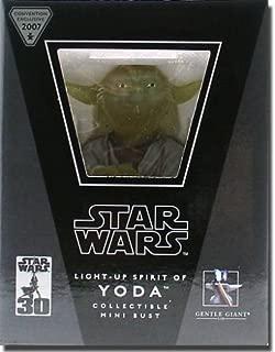 Star Wars Light-Up Spirit Of Yoda Bust