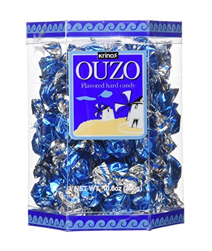 Ouzo Candy - Krinos - 10.6 Oz Box