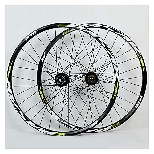 YBNB 26 27,5 29 Pulgadas MTB Ciclismo Ruedas De Doble Pared Ruedas De Bicicleta Freno De Disco Bicicleta De Montaña Juego De Ruedas Válvula Americana 7/8/9/10/11 Velocidad