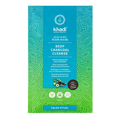 Khadi Deep Charcoal Cleanse - Haarmaske 50g