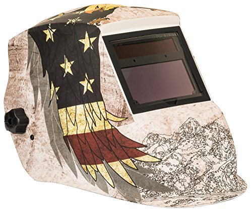 FORNEY INDUSTRIES 55708 Advantage Auto Darkening Helmet,Patriot Advantage