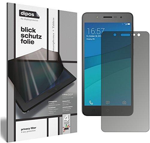 dipos I Blickschutzfolie matt kompatibel mit Hisense L695 Sichtschutz-Folie Bildschirm-Schutzfolie Privacy-Filter
