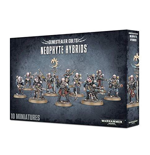 Games Workshop 99120117004' Warhammer 40,000 Gene Stealer Cults Neophyte Hybrids Action Figure