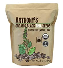 USDA Certified Organic Black Chia Seeds Batch Tested and Verified Gluten Free Great source of Omega-3 fatty acids, protein, antioxidants and fiber Product of Latin America, Packed in California Add these versatile seeds to your favorite juices, sprin...