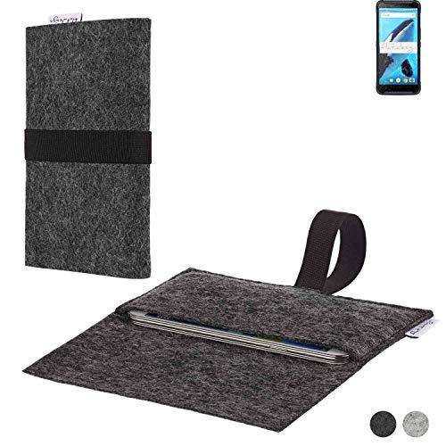 flat.design Handy Hülle Aveiro für Energizer Hardcase H570S passexakte Filz Tasche Hülle Sleeve Made in Germany