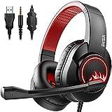 Best Bass Headphones - EKSA T8 Stereo Gaming Headphones for PS4 PC Review