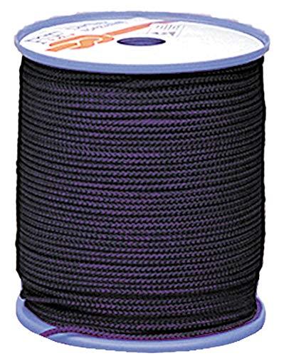 Relags 200 mètres Rouleaux 3 mm Corde, Mixte, 560101, Noir, 3 mm x 200 m