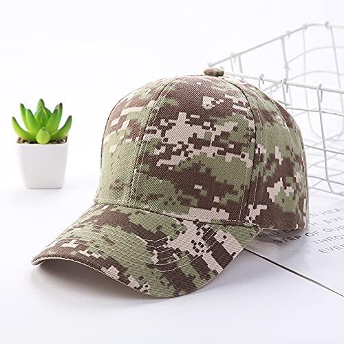 Gorra Camuflaje ajustable largo beansbol gorra de béisbol primavera verano sombra al aire libre hombres mujeres impresión papá sombrero pico gorra Sombreros y gorras ( Color : 03 , Size : Adjustable )