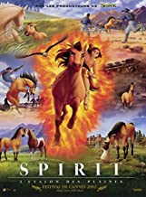 Spirit: Stallion of the Cimarron POSTER Movie (11 x 17 Inches - 28cm x 44cm) (2002) (French Style A)