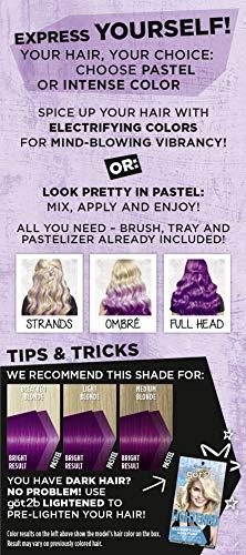 Got2b Creative Semi-Permanent Hair Color, 094 Perky Purple