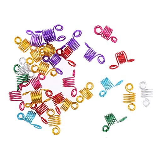 freneci Dreadlocks Braiding Beads Puños Decoración Del Cabello Pulsera Accesorios de Bricolaje 30x