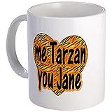 CafePress Me Tarzan Sie Jane Tasse–Standard mehrfarbig