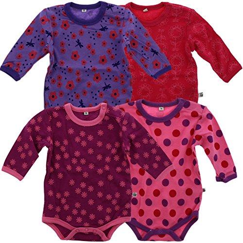 Hase, 50//0 Monate Made in EU For Babies Unisex Baby Strampler Langarm 100/% Bio-Baumwolle