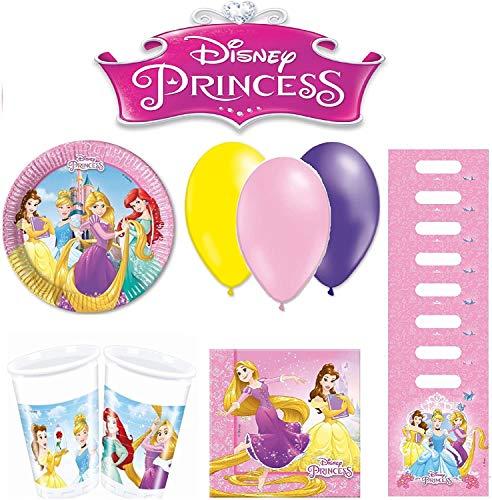 Disney Princesses kit Anniversaire 8 Personnes