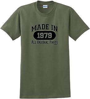 40th Birthday Gifts Made 1979 All Original Parts T-Shirt