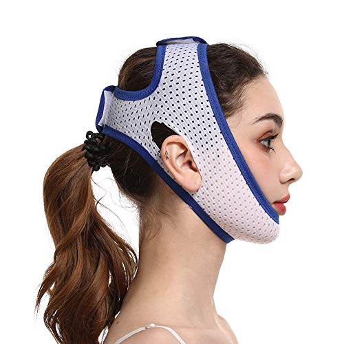 Chin Strap CPAP Users, Stop Snoring Solution, Comfortable Snore Stopper?Anti Snoring Chin Strap?Breathable Stop Snoring Solution Chin Strap Anti Snoring Devices Anti Snore Stopper Strips Mask Belt