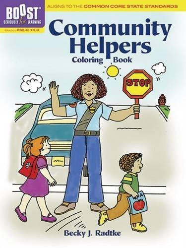 BOOST Community Helpers Coloring Book (BOOST Educational Series) by Becky J. Radtke (2013-08-21)