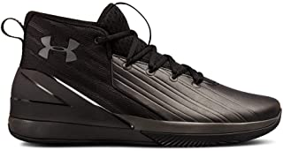 Under Armour Men's Launch Basketball Shoe, Black (001)/Anthracite, 9