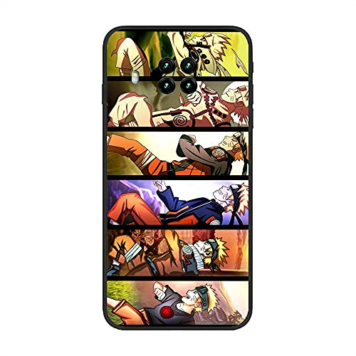 Koude Black Coque Matte Shockproof Soft Slim Case TPU Cover For XIAOMI Redmi Note 9 Pro 5G/Mi 10T Lite-Naruto-Uzumaki 9