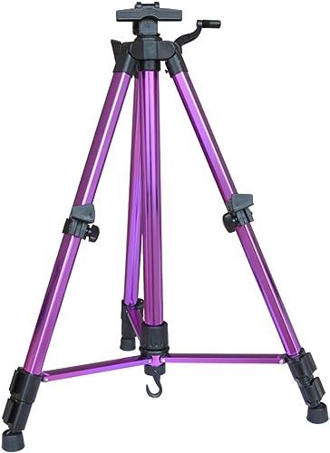 nuevo sádico ZfgG Caballete, Caballete de Aluminio Plegable Dibujado a a a Mano, Caballete de triángulo portátil Fuera de la Herramienta de boceto, Adecuado para Estudiantes Adultos (Color   púrpura)  últimos estilos