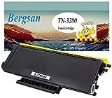 Bergsan Cartucho de tóner negro Compatible para Brother TN-3280 TN3280 para Brother HL-5340 HL-5350 HL-5370 HL-5380 DCP-8070D DCP-8080DN DCP-8085DN DCP-8880DN DCP-8890DW HL-5340D HL-5340DL HL-5350DN