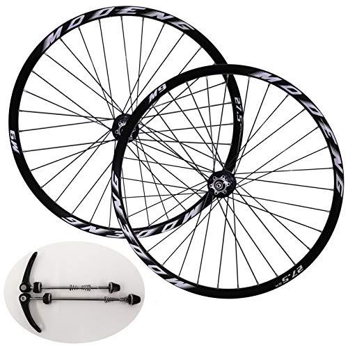 VHHV Bicicleta de Montaña Juego Ruedas MTB 26 27.5 29 Pulgadas Freno de Disco Rueda de Bicicleta Llanta de Aleación Ajuste 1.5-2.35' Neumático para 8/9/10/11 Velocidad Casete