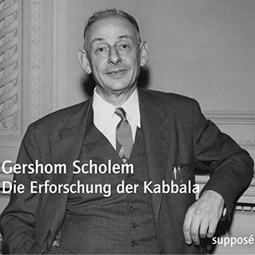 Die Erforschung der Kabbala [Originaltonaufnahmen 1967] audiobook cover art