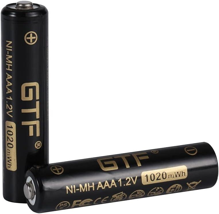 Omaha Mall Rechargeable Batteries 1.2V Japan Maker New Ni-Mh AAA Rec 850Mah 1020Mwh Battery