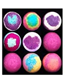 Roiii Bath Bombs Gift Set 4,6,9,12, Shea & Coco Butter Dry Skin Moisturize, Perfect for Bubble & Spa Bath. Handmade Birthday Mothers Day Gifts idea for Her/Him, Wife, Girlfriend (12) from Roiii