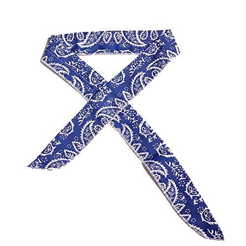 Ogquaton 1 STÜCKE Sommer Kühlung Cashew Blume Mehrzweck Stirnband Armband Eis Band Perfekte Styling Dekoration für Mädchen Damen
