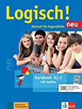 Logisch! neu a1.2, libro del alumno con audio online: Kursbuch A1.2 mit Audios zum Download