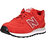 New Balance NB 574 - Zapatillas para mujer, color Rojo, talla 38 EU