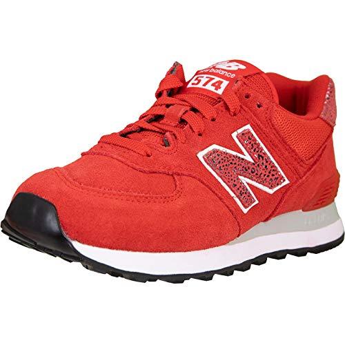 New Balance NB 574 Women Sneaker (red, Numeric_39)