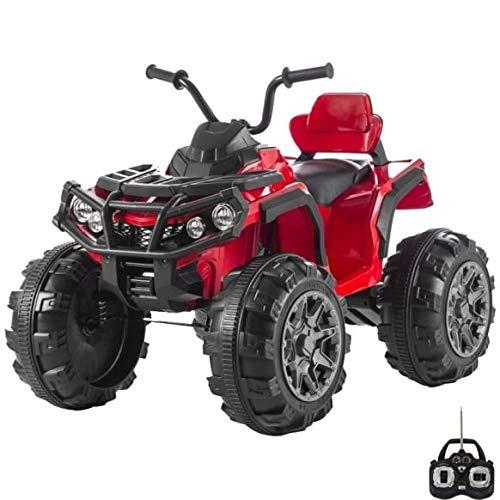 Quad Eléctrico para Niños 12V moto Outlander roja