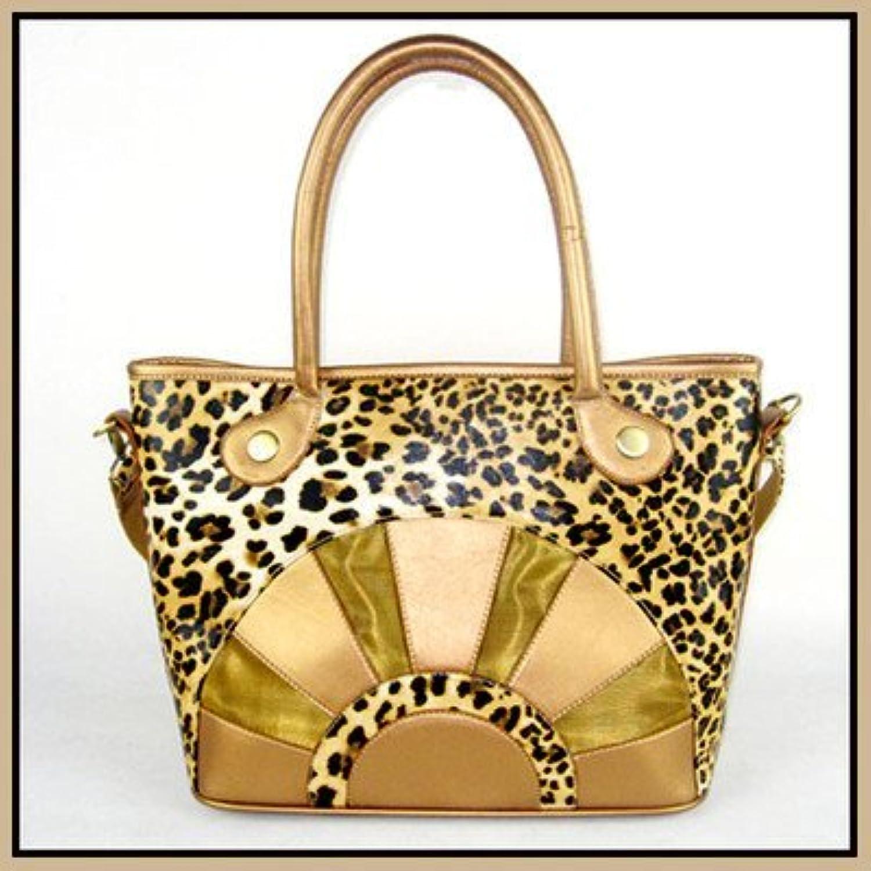 Backbone Leopard Print Canvas Pet Carrier with Faux Leather by Backbone