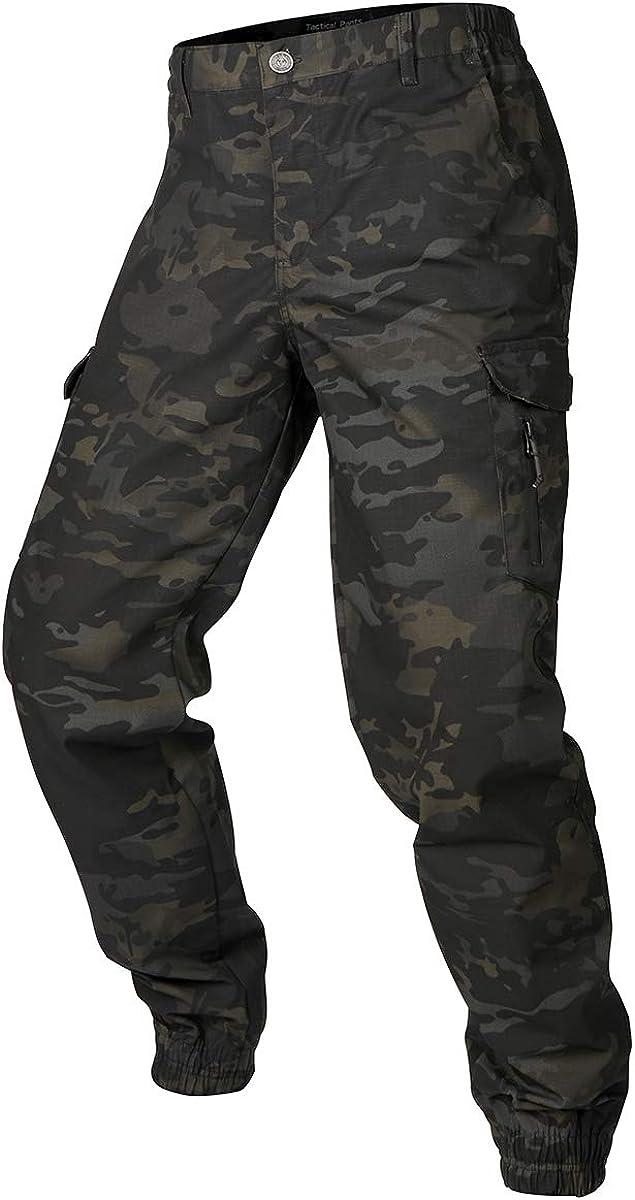 NAVEKULL Men's Camouflage Max 42% OFF Tactical Very popular Waterproof Pants Lightweight