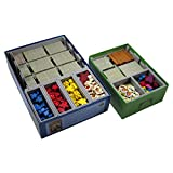 Folded Space Carcassonne and Expansions Board Game Box Inserts