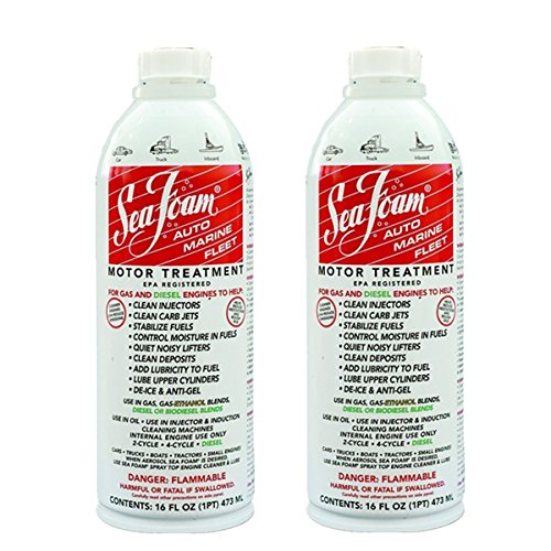Sea Foam SF-16-2PK Motor Treatment Multi-Use, 16 Ounce, Pack of 2, 16. Fluid_Ounces