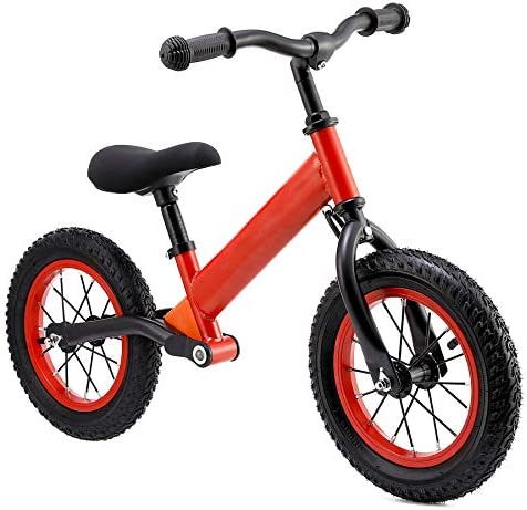 CO Z Kids Balance Bike for 2 5 Year Olds with 12 Rubber Air Tires Easy Step Through Frame Bike product image
