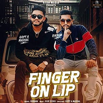 Finger On Lip