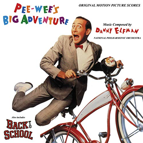 Pee-wee's Big Adventure (1985 Film) / Back To School (1986 Film): Original Motion Picture Scores [2 on 1]