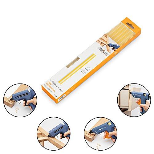 Steinel Holz-Klebesticks Ø 11 mm, spezieller Klebstoff füt Holzleisten und zum Reparieren von Möbeln und Spielzeug