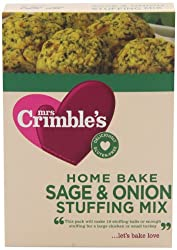 Deliciously gluten and wheat free Makes 10 stuffing balls Packed in a factory handling nuts Gm free