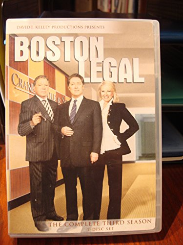Price comparison product image Boston Legal: Season Three: Seven Disc DVD Set