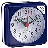 technoline Geneva S Blau Sveglia al Quarzo, Blu, 5.5x3x5.5 cm