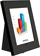 Pyle Anti-Theft Tablet Security Case Holder - Metal Heavy Duty Multi Mount Tablet Kiosk, Mounts on Wall, Table, Desk w/ Landscape/Portrait Mounting, Designed for iPad 2, 3, 4, Air Tablets - PSPADLKW5