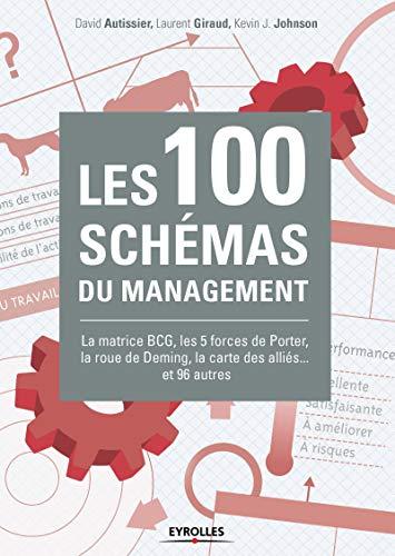 Les 100 schémas du management: La matrice BCG, les 5 forces de Porter, la roue de Deming, la carte des alliés... et 96 autres.