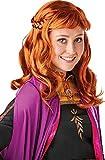 Peluca oficial de Disney Frozen 2, Anna de Rubie's, accesorio para disfraz, talla única