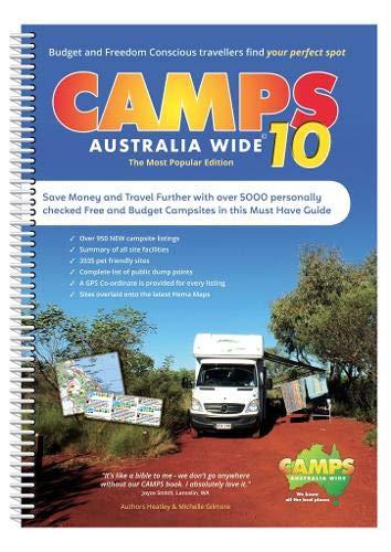 Camps Australia Wide 10 A4: Campingführer Australien
